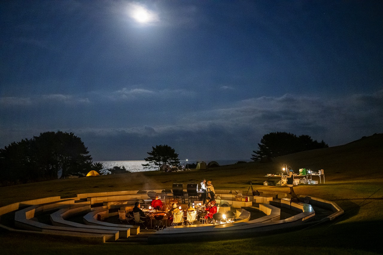 The finest night BBQ on Tanesashi coast
