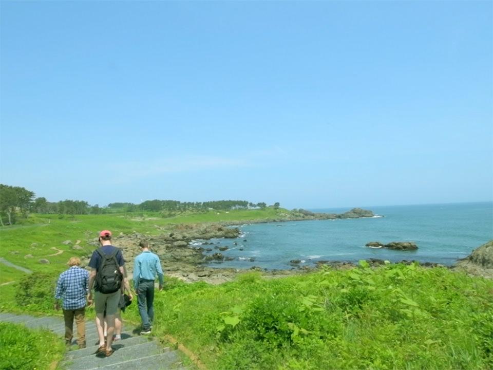 Michinoku Coastal Trail trekking